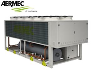 AERMEC - chiller powietrze - woda TBX